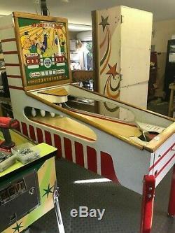 Jeu D'arcade De Collection Bally All Star Deluxe Bowler Entièrement Restauré