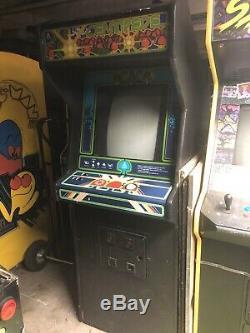 Jeu D'origine Centipede Arcade Atari Machine À Pièces De Monnaie Taille Pleine Vidéo