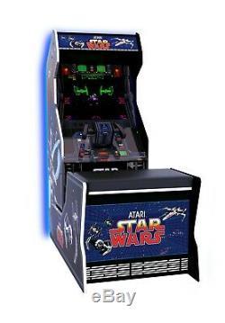Jeu Vidéo Star Wars Arcade Machine Avec Banquette, Neon Lights Limited Édition