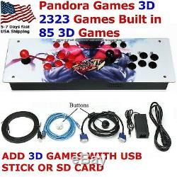 Jeux De Pandora 3d 2323 Dans 1 Émulateur De Console De Jeux Vidéo Rétro Arcade Machine