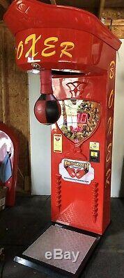 Knock-out, Kriss Sport, Boxer, Poinçonnage, Machine De Boxe Arcade