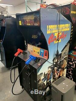 Konami Lethal Enforcers II Gun Jeu Vidéo Arcade Machine