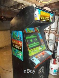 Kung Fu Master Arcade 1984 - Machine À Sous Sans Pièce De Flipper