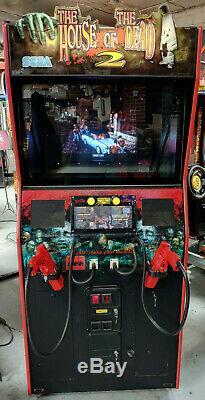 La Maison Des Morts 2 Arcade Tir Vidéo Game Machine! Tirez Sur Les Marcheurs