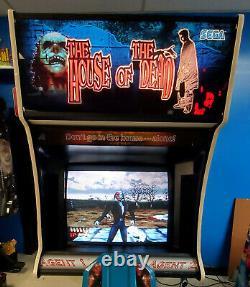 La Maison Du Tournage Dead Arcade Video Game Machine! Tirez Sur Les Marcheurs