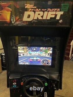 La Rapide Et La Furieuse Tokyo Drift Arcade Sit Down Driving Vidéo Jeu Machine