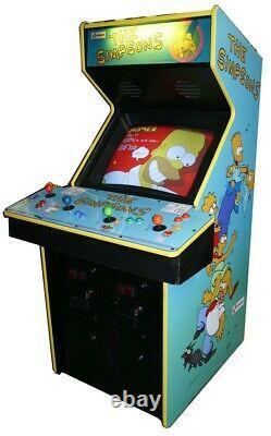 Les Simpsons Arcade Machine By Konami 1991 (excellent Condition) Rare