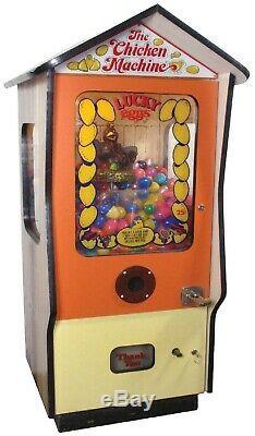 Lucky Oeufs Arcade Rachat Machine 1978 (excellent État) Rare