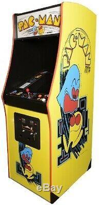 Machine Arcade Pac-man Par Midway (excellent Condition) Rare