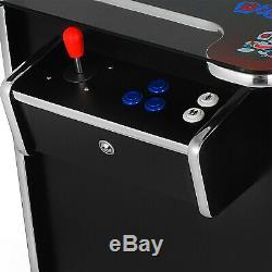 Machine D'arcade De Cocktail Avec 412 Jeux Commerciaux Classiques De Manette 2 Classiques