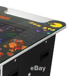 Machine D'arcade De Cocktail Avec Le Verre Trempé De Console De Jeux Classique 60 Chaud