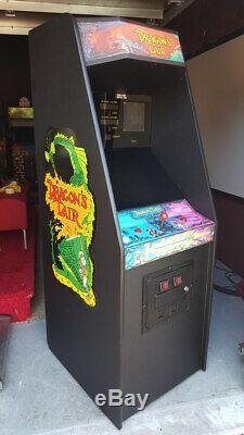 Machine D'arcade Du Repaire Du Dragon