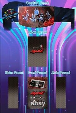 Machine D'arcade Multicade 4 Joueurs Des Milliers De Jeux Choisissent Design Pi4