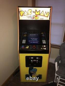 Machine D'arcade Pac-man Originale 1980s Rare Pacman Vintage Working