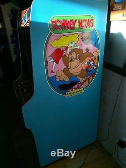 Machine D'arcade Pleine Grandeur Remise À Neuf Originale De 1981 Donkey Kong