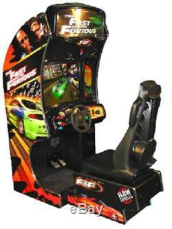 Machine D'arcade Rapide Et Furieuse (excellent État) Rare