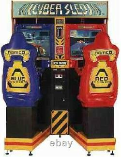 Machine D'arcade Sled Cyber By Namco (excellent Condition) Rare