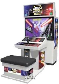 Machine D'arcade Trilogy Star Wars De Sega (excellent État) Rare
