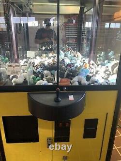 Machine De Grue De Griffe De Compétence De Maison De Jouet Avec L'accepteur De Projet De Loi 31 Taille Standard Large