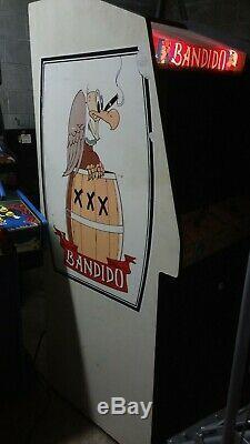 Machine De Jeu D'arcade Dédiée À Bandido Exidy - Nintendo Miyamoto Sheriff