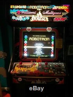 Machine De Jeu D'arcade Multigame Williams Robotron Joust Defender Plus