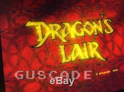 Machine Lair Arcade Dragon Nouveau Full Cabinet Taille Dragons Lair Jeu Guscade