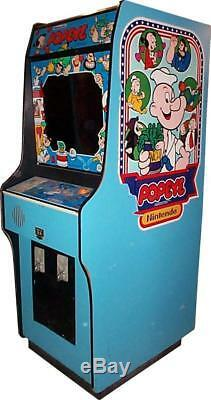 Machine Popeye Arcade Par Nintendo (excellent État) Rare