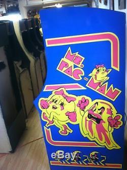 Machine Restauré Mme Pacman Arcade, Aménagee