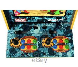 Marvel Super Héros Arcade1up Retro Gaming Cabinet Machine 3 Jeu In 1 Tout Neuf