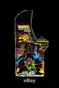 Marvel Superheroes Arcade1up Retro Gaming Cabinet Machine 3 En 1 Jeu Ships Maintenant