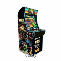 Marvel Superheroes Arcade1up Retro Gaming Cabinet Machine 3 Jeux En 1