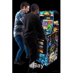 Marvel Superheroes Retro Arcade 1up Machine Arcade1up 4ft Jeu Vidéo Cabinet