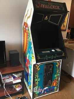 Millipede 1980 Originale Arcade Machine! Fonctionne Très Bien
