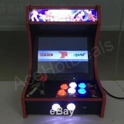 Mini Bartop Arcade Cabinet Game Machine Raspberry Pi B + Rétro Console De Jeu 64gb