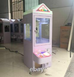 Mini Claw Crane Machine Candy Toy Grabber Carnival Carnival Charge Play Mall 110v