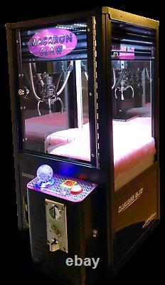 Mini Claw Machine Coin Operated Arcade Games Machines De Noël À Vendre- Noir