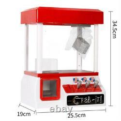 Mini Claw Machine Grabber Jeux D'arcade Électroniques Pour Enfants Cadeaux Bonbons / Jouets