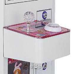 Mini Récent Boîtier Métallique Barre Supérieure Griffe De Grue Attrape-jouet Bonbons Machine À Vendre