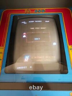 Mme Pac Man Arcade Machine Entièrement Restaurée