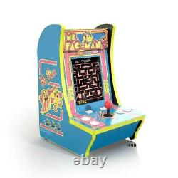 Mme Pac-man Arcade1up Counter-cade 4 Jeux En 1 Tabletop Design Cabinet Machine