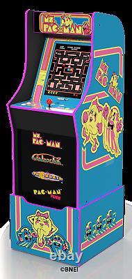 Mme Pacman Arcade Machine Avec Riser, Arcade1up
