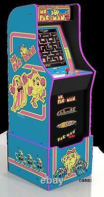 Mme Pacman Arcade Machine Avec Riser Retro Arcade Cabinet Arcade 1up New 4 Games