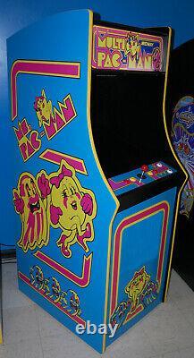 Mme Pacman Multicade Classic Arcade Machine Joue 60 Jeux! Pac Man Brand Nouveau