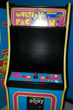 Mme Pacman Multicade Classique Arcade Machine Plays 60 Jeux! Pac Man Tout Neuf