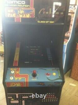 Mme Pacman/galaga Machine D'arcade De Réunion De 20 Ans, Mise À Niveau