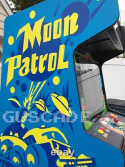Moon Patrol Arcade Machine New Full Size Multi Peut Jouer Plusieurs Classiques Guscade