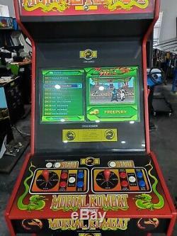 Mortal Kombat 1 Mk1 Arcade Machine Plays Plus De 1200 Jeux Avec Pcb D'origine