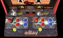 Mortal Kombat 2 Arcade 1up Machine Arcade1up, Grand Jeu Vidéo 4ft Cabinet Riser