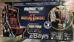 Mortal Kombat 2 Arcade Machine, Arcade1up, 4 Pieds Tout Neuf Dans La Boîte