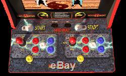 Mortal Kombat 2 Arcade Machine, Arcade1up, Cabinet Grand Jeu 4ft Vidéo Nouveau